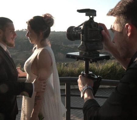 Técnicas cinematográficas para filmes de casamento